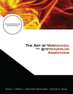 Book Cover - The Art of Verification with SystemVerilog Assertions